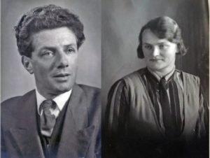 Jan Beentjes (1910-1979) en Trien Lute