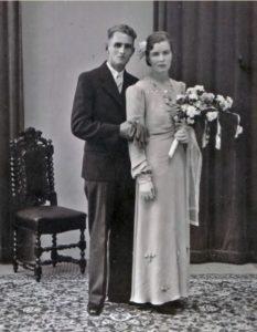 Piet Beentjes (1912-1978) en Cornelia Maria Borst