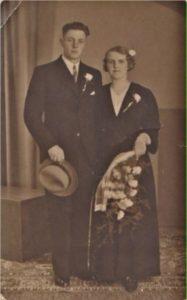 Griet Beentjes (1914-1968) en Adrianus Jordens